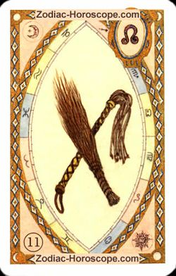The whip astrological Lenormand Tarot