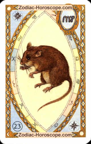 The mice Single love horoscope