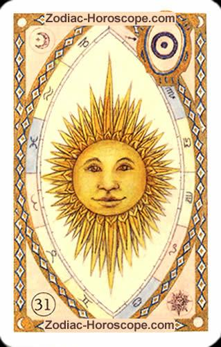 The sun Single love horoscope
