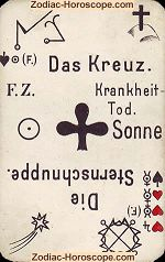 The cross psychic card meaning psychic card meaning