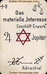 The material interests psychic card meaning