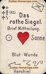 The red seal psychic card meaning