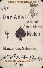 The nobility psychic card meaning