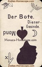 The deliveryman psychic card meaning