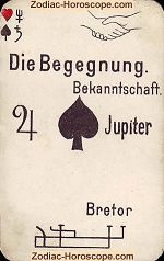 The encounter psychic card meaning