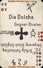 The daggers psychic card meaning