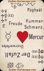 The friends psychic card meaning