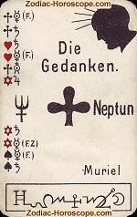 The thoughts psychic card meaning