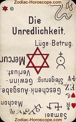 The dishonesty psychic card meaning