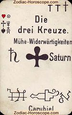 The three crosses psychic card meaning