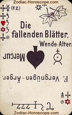 The falling leaves psychic card meaning