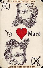 The Mars psychic card meaning