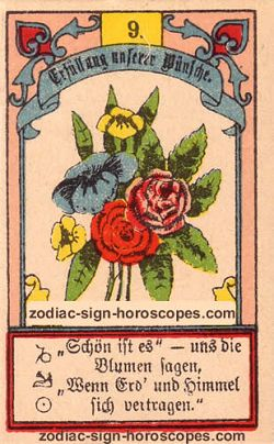 The bouquet, monthly Taurus horoscope April