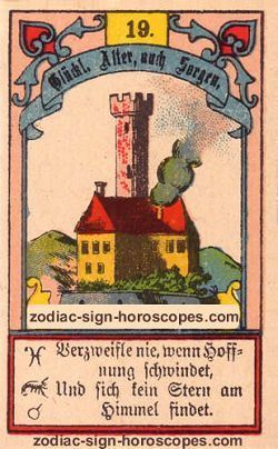 The tower, monthly Taurus horoscope April