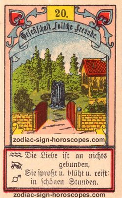 The garden, monthly Taurus horoscope April