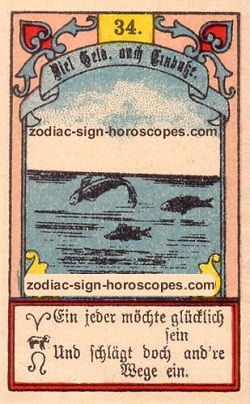 The fish, monthly Taurus horoscope April